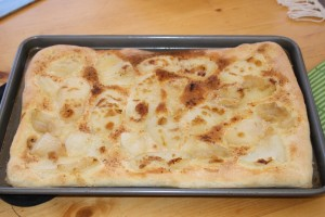 Caramelized Onion Flatbread - After